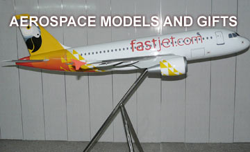 Aerospace and aircraft scale model